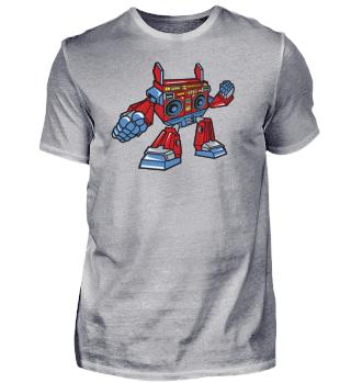 ☛ Boombox Robot #20.2