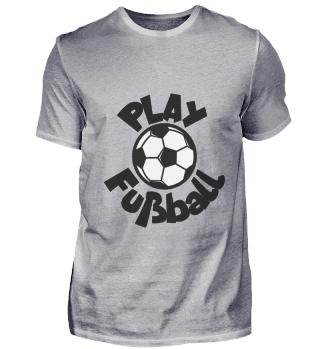 Play Football black