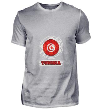 D003-0031 Country Flag Tunesia / Tunesie