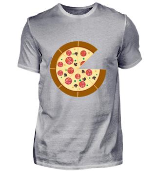 Pizza ein Stück fehlt