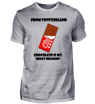 Schweiz Schweizer Schokolade