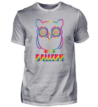 Ballern Psychedelic Owl Techno Festival