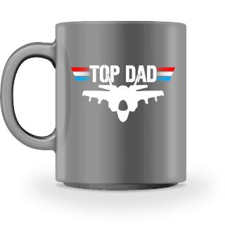 Top Dad Jet Düsenjäger Pilot Tasse