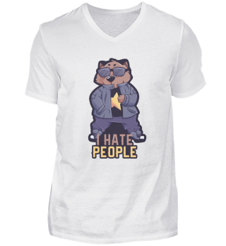 I Hate People Wombat Gift