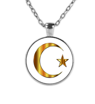 Türkei Gold Kette Fahne Flagge Stolz