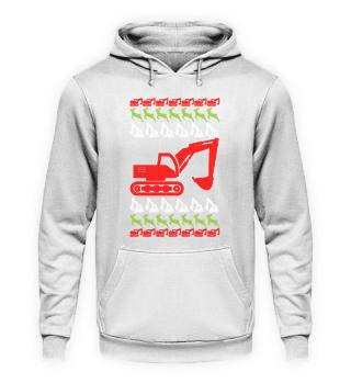 Bagger Baustelle · Weihnachten