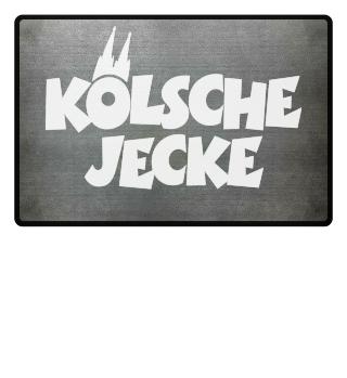 Kölsche Jecke - Fußmatten aus Köln