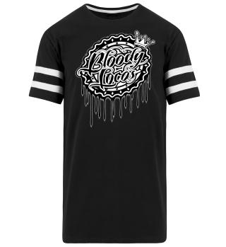 Herren Kurzarm T-Shirt Bloody Locos BW Ramirez