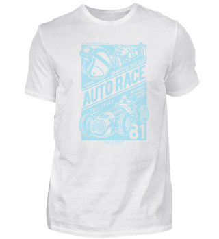 Vintage Auto Rennen T-Shirt Geschenk