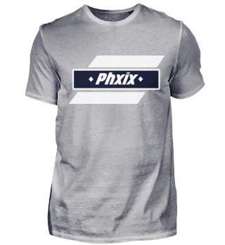 Phxix ➖ Premium T-Shirt I Herren - Blau