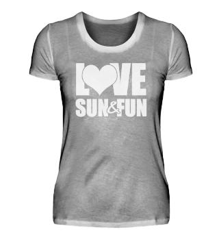 ☛ Love - Sun - Fun #3W