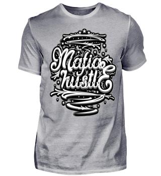 Herren Kurzarm T-Shirt Mafia Hustle Ramirez