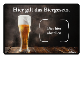 Fußmatte | Bier Hier Abstellen