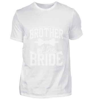Brother of the Bride T-Shirt Groom Gift