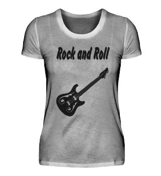 Rockand Roll Damen T-Shirt