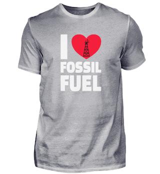 OILFIELD OIL WORKER : I love Fossil Fuel
