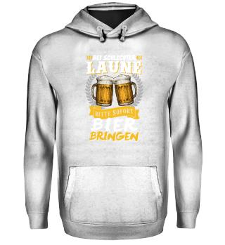 Bier Trinken Party · schlechte Laune