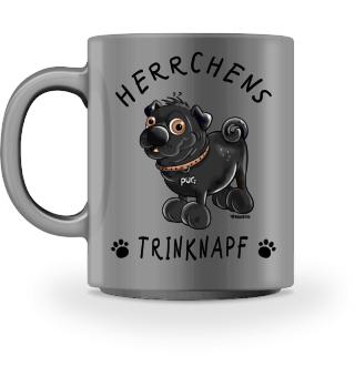 Herrchens Trinknapf Mops I Tasse