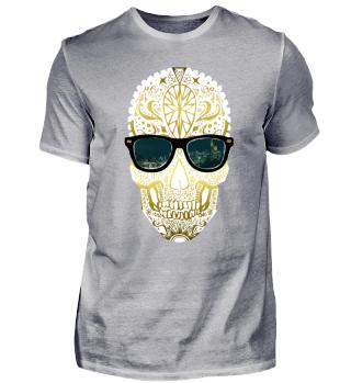 Frankfurt Shirt Skull Sonnenbrille