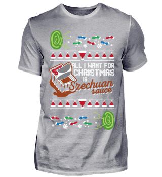 Ugly Shirt Szechuan Sauce