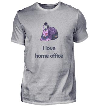 Home Office Schnecke Arbeit Beruf Gesche