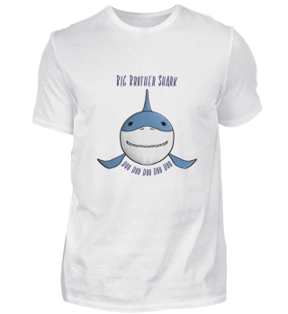 Big Brother Shark Doo Doo Funny Apparel