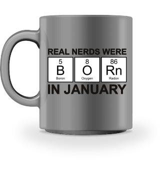 Periodic Elements - BORN january - black