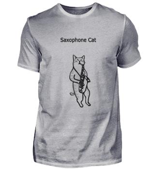 Saxophone Cat