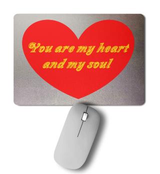Mousepad heart and soul