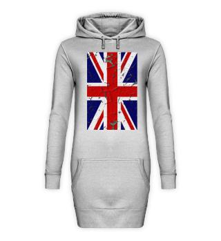 United Kingdom Union Jack Flag Grunge 1b