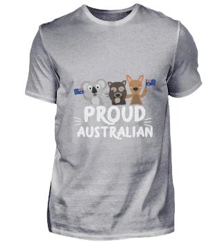 Australia Proud Australian Koala Kangaro