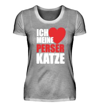 Katzen Mama - Perser Katzen T-Shirt