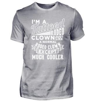 Tattooed Rodeo Clown
