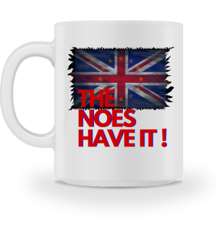 The Noes have it - Brexit - Accessoires