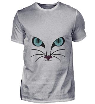 D009-0012 Cat Face II / Katze Gesicht