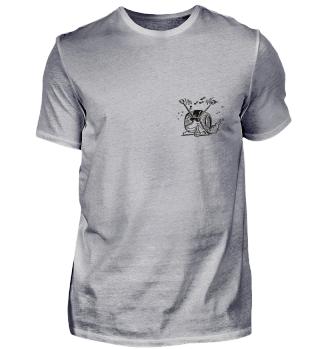 SchneckesSchnecke (mit Rückenschriftzug)