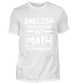 English vs Math