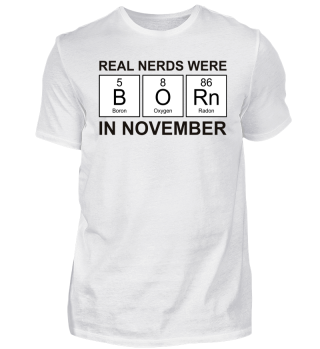 Periodic Elements - BORN november black