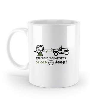 JCD Tasse JeepKids 1 mehrfarbig