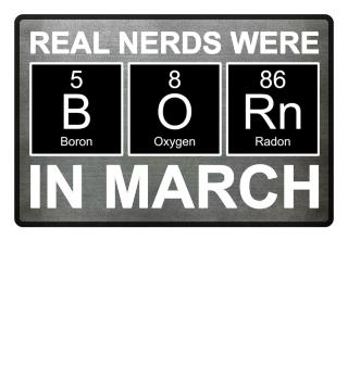 Periodic Elements - BORN march white
