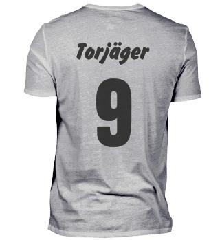 Fußball Torjäger Stürmer T-Shirt