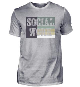 Social Work Retro | Sozialarbeit Worker