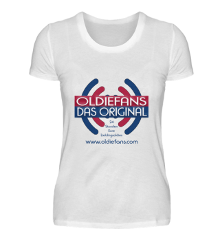 Oldiefans - Das Original Shirt Damen