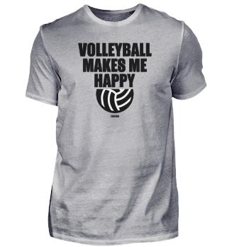 Volleyball Sport Geschenk Glücklich