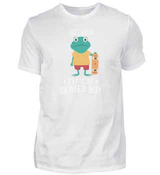 Just Your Typical Skater Boy Frog