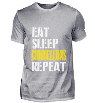 eat sleep chameleons repeat for men