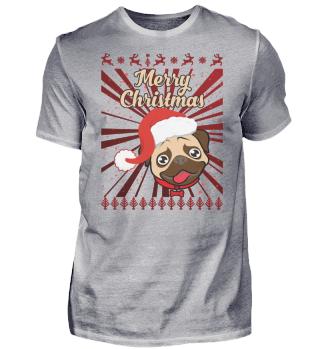 Frohe Weihnachten kleiner Hund Design