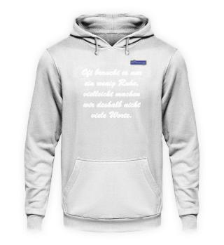 2019/05 - Ruhe - Shirts und Hoodie