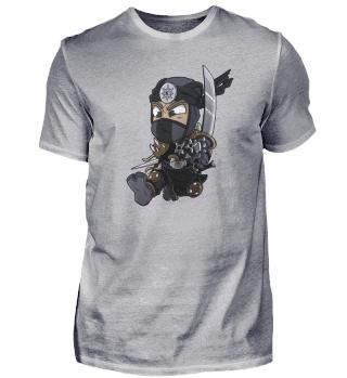 Black Ninja Chibi Assassin Gift