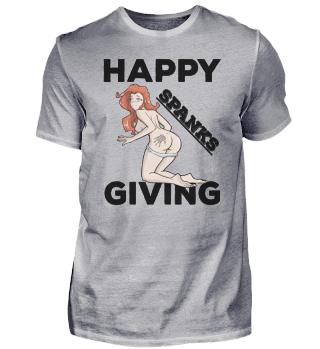 Thanksgiving Apparel Spanksgiving Lewd